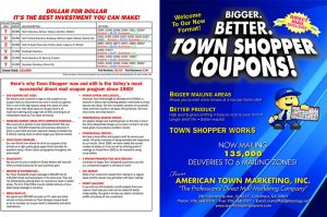 2020 town shopper coupons mktg map