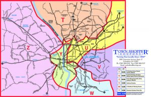 town shopper coupons mktg map