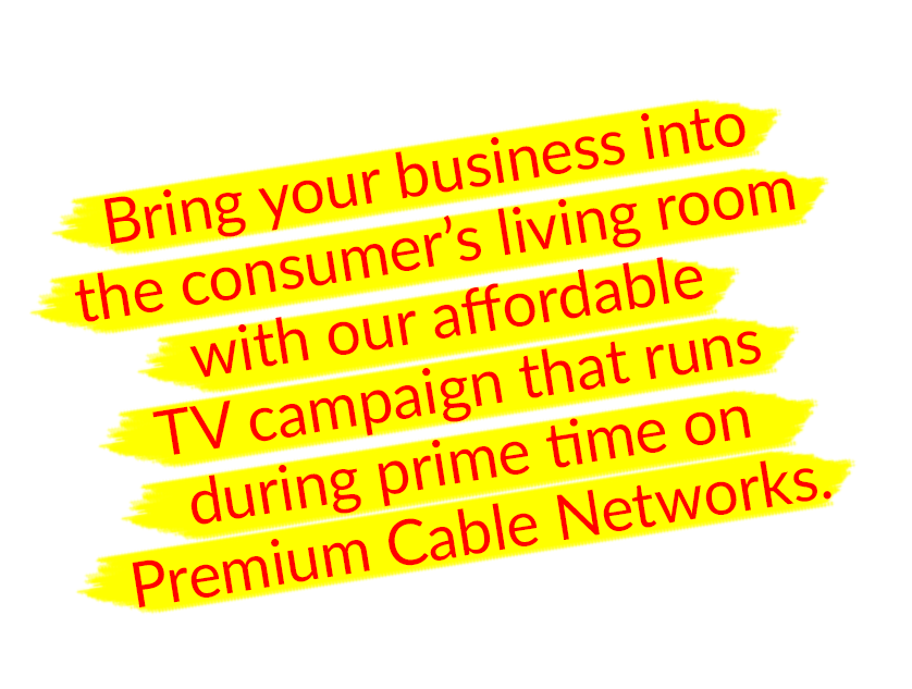 TV Campaign with American Town Shopper Coupons Direct Mailing