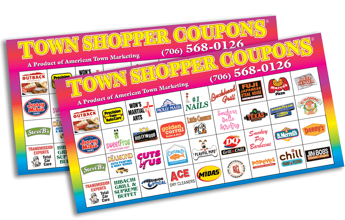 American Town Shopper coupon booklet