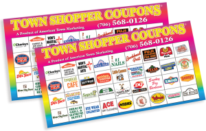 2 town shopper coupons booklets