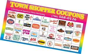 American Town Shopper Coupons booklet