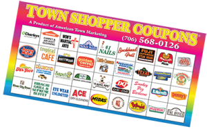 town shopper coupons booklet