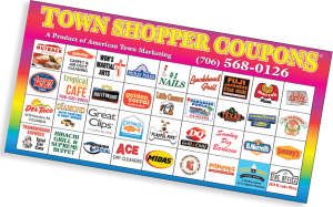 large town shopper coupons booklet