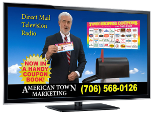 town shopper coupons tv ad cover image
